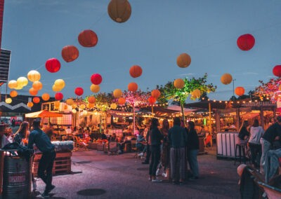 Streetfood-Markt