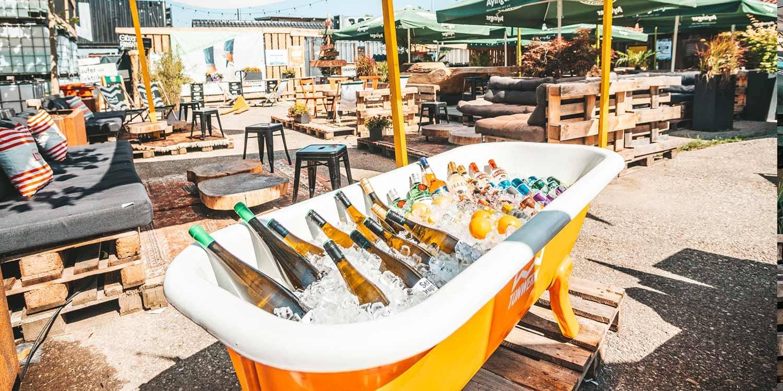Pop Up Biergarten Tonwerk Dorfen Kultur Nachtleben Events